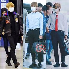 tae tae on quot how taehyung s fashion style has