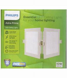 Philips False Ceiling Square Lights Philips 10w 5 9inch Plastic Ceiling Light Square Buy