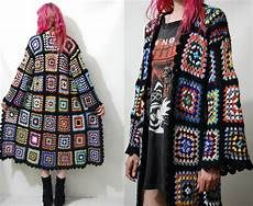 reserved for diane crochet square jacket sweater