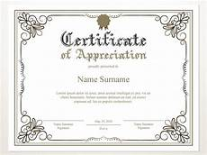 Powerpoint Certificate Of Appreciation Printable Certificate Of Appreciation Editable Certificate