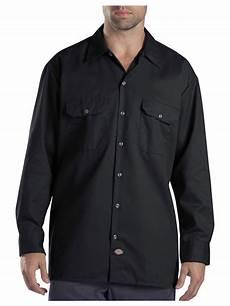 dickies sleeve shirt dickies original fit sleeve button front work shirt 574