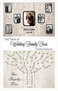 Different Types Of Family Tree Charts Wedding Family Tree Charts Two Types Family Locket