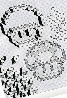 Cool Designs With Graph Paper Graph Paper Fun By Utahdude On Deviantart