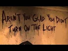 Glad Light Aren T You Glad You Didn T Turn On The Light Urban Legend