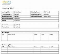 Action Item Template Word Minutes Of Meeting Sample With Action Item List Dotxes