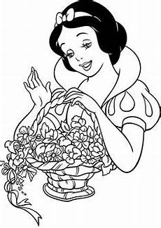 Malvorlagen Prinzessin Xavier Snow White Opening Gifts Coloring Pages Disney