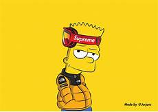 supreme bart background gucci bart wallpapers wallpaper cave