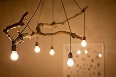 Tree Branch Light Fixture These 50 Natural Art Projects Will Bring A New Spark To
