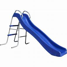 Blue Slides Kids Freestanding Double Frame Slide In Blue 1 7m Buy