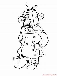 Malvorlagen Roboter Roboter Malvorlage Kostenlos