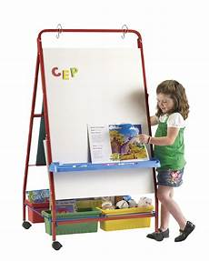 Teacher Easel For Chart Paper Copernicus Teaching Easel Red Classroom Direct