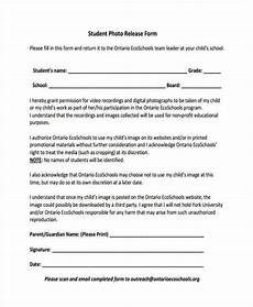 School Forms Templates Free 40 Release Forms In Pdf Excel Ms Word