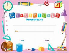Child Award Certificate Free Printable Certificate Template For Kids بالعربي نتعلم
