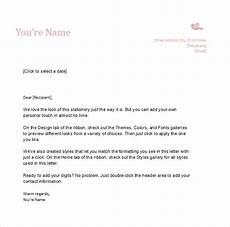 Examples Of Personal Letterhead Free 10 Sample Personal Letterhead Templates In Pdf Ms