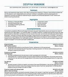 Big 4 Resume Sample External Auditor Resume Sample Auditor Resumes Livecareer
