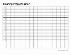 Graph Chart Template Reading Graph Template Reading Progress Chart Blank