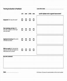 Training Feedback Survey Template Free 8 Printable Survey Forms In Pdf Ms Word