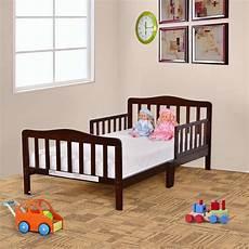 costway baby toddler bed children wood furniture w