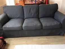 ikea ektorp three seater sofa covers nordvalla grey