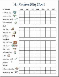 Reward Chart For 10 Year Old Boy Responsibility Chart Chore Chart Chore Chart Kids Kids