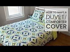 How To Make A Cover Sheet For A Paper How To Make A Duvet Cover Youtube