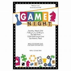 Game Night Invitation Template Game Night Expressionery