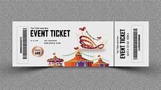 Tickets Design Event Ticket Design Photoshop Tutorial Youtube