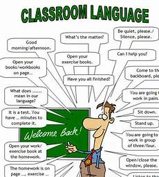 English Language Charts For Classroom Classroom Language For Teachers And Students Of English