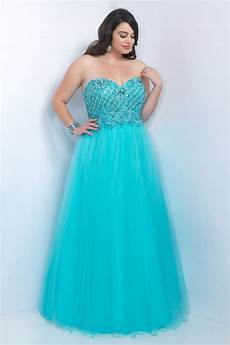 Designer Prom Dresses On Clearance Blush Plus Size 9111w Floral Beaded Appliques Prom Dress