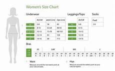 Boody Size Charts Boody Uk