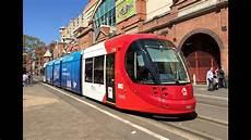 Light Rail Sydney Trackwork Sydney Light Rail Vlog 26 Blue Urbos 3 Youtube