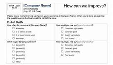 Service Questionnaire Template Customer Service Survey Template Customer Service Template