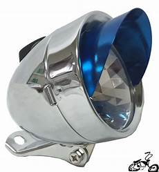 Bullet Bike Light Bullet Light For A Bicycle With Chrome And Blue Visor