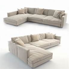 Dining Sofa 3d Image by Realistic Sofa 3d Print Model In 2020 White Dining