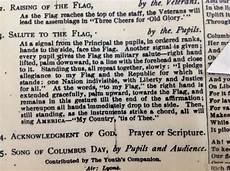 Another Word For Pledge The Weird History Of The Pledge Of Allegiance The
