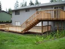 Two Level Deck Designs 19 Decorative 2 Level Deck Ideas Home Building Plans 35441