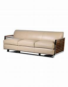 Ivory Leather Sofa Png Image by Ivory Premium Leather Three Person Sofa With Slatted