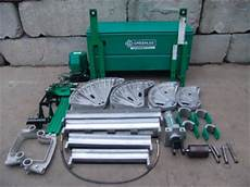 Greenlee 881 Bender Chart Greenlee 881 Ct Hydraulic Bender 2 1 2 To 4 Inch With 980