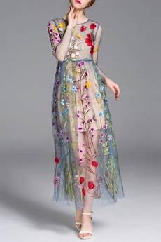 embroidery dress how to style floral embroidered dress 15 chic