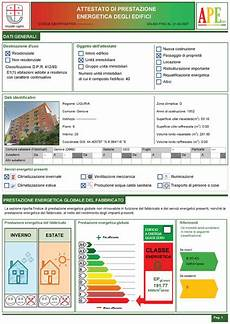 certificazione energetica capannone attestato prestazione energetica ape