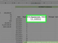 Mortgage Calculator Excel Sheet 3 Ways To Create A Mortgage Calculator With Microsoft Excel