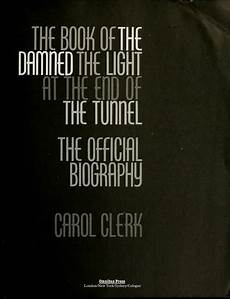 Light At The End Of The Tunnel Book Pdf The Book Of The Damned The Light At The End Of The Tunnel