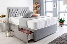 suede divan bed set mattress beds mattresses deals