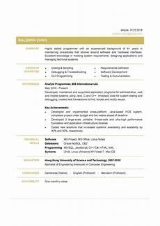 Creative Programmer Resume Cv Examples Programmer Programmer Cv Example