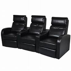 home cinema sessel vidaxl artificial leather home cinema recliner reclining