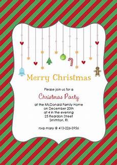 Printable Christmas Party Invitations Free Templates Printable Christmas Party Invitations