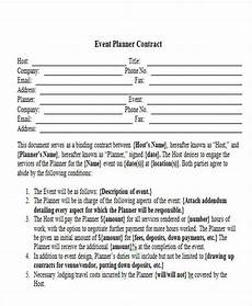 Event Planner Agreement 15 Event Contract Templates Sample Example Format