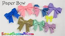 diy paper crafts paper bow ribbon and easy how to