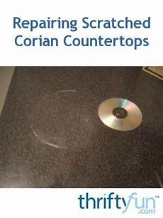scratches in corian repairing scratched corian countertops thriftyfun