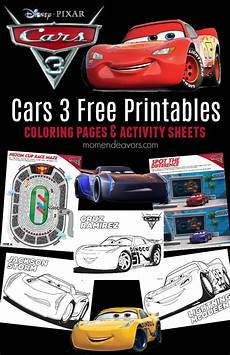 Free Cars Printables Disney Pixar Cars 3 Printable Activities Amp Coloring Pages